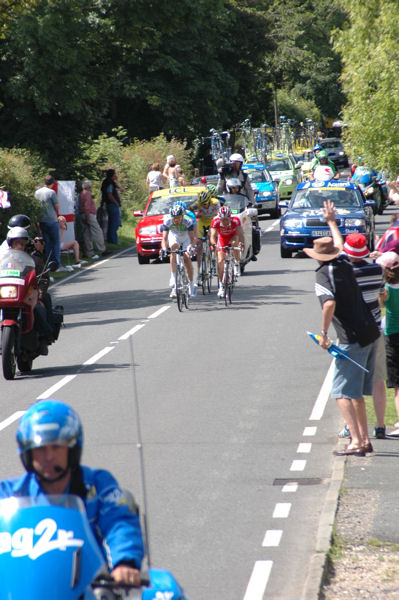 Tour De France 2007 - Bethersden, Kent, England - Photograph - Lead Group