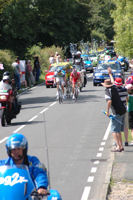 Tour De France 2007 passes through Bethersden, Kent, England, UK, GB
